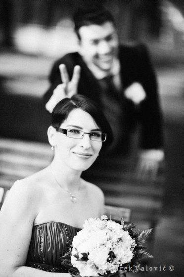 modern black and white wedding photography Europahaus Vienna