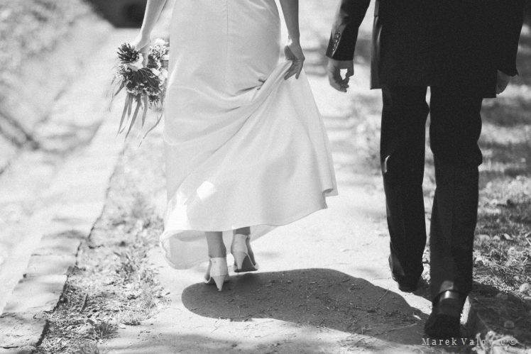 black & white wedding photography documentary  bride groom