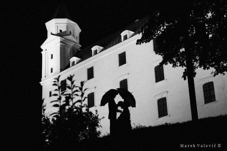 black & white wedding photo Bratislava Timeless photography