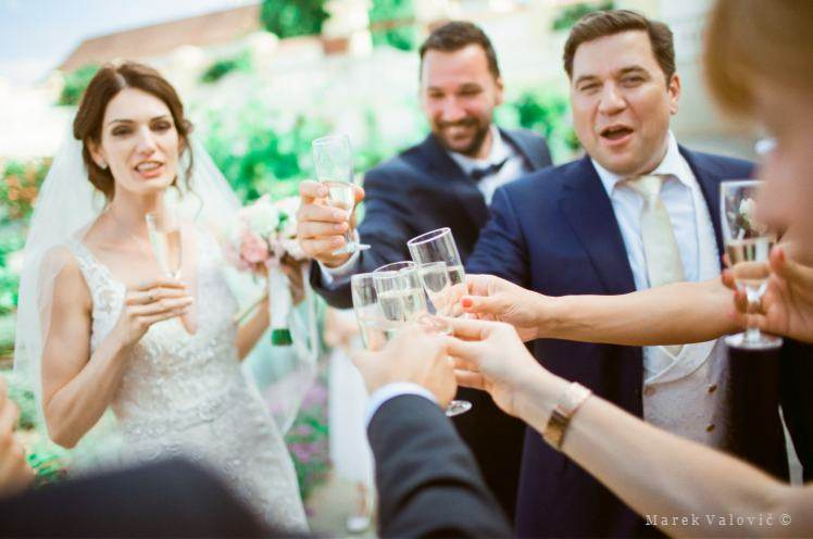 wedding drinks - film is not dead - wedding photo