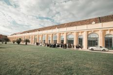open blog Schonbrunn Wedding