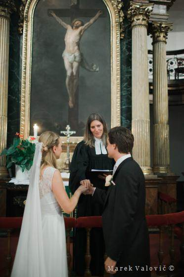church wedding - religious ceremony Vienna
