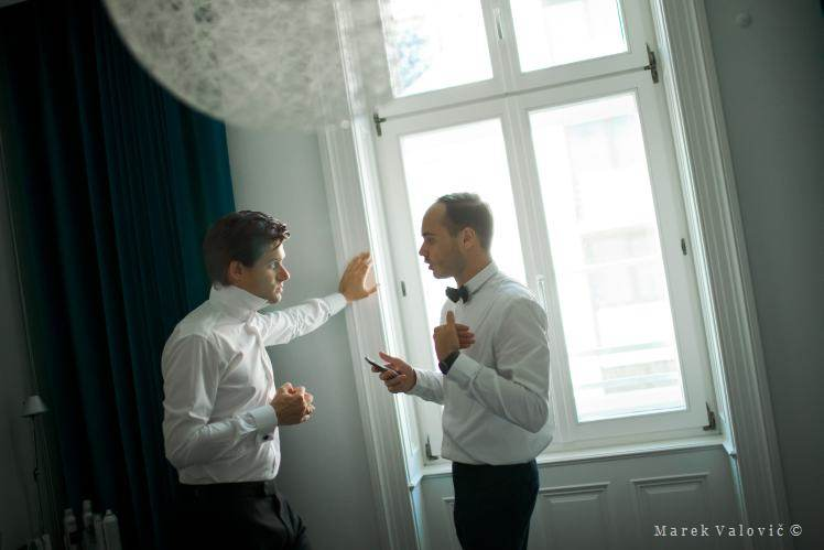 photojournalistic wedding photo - reportage Vienna