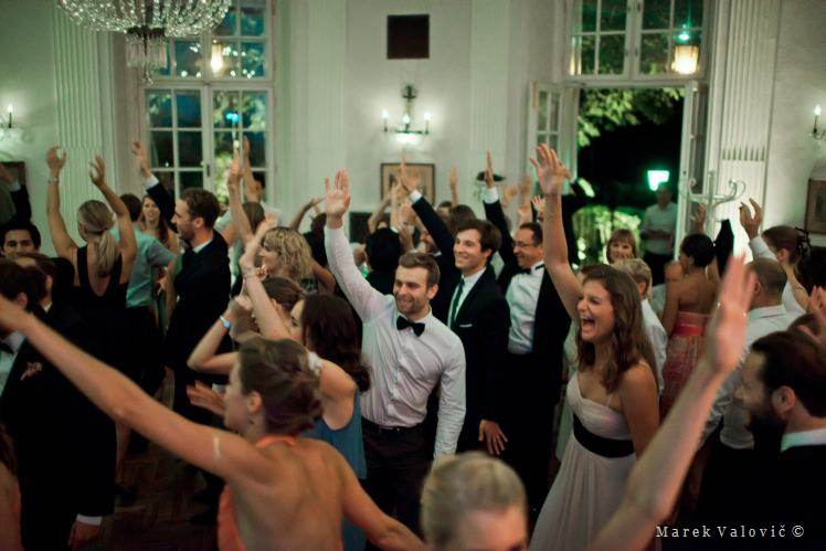 wedding dance at Lusthaus in vienna