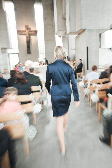 wedding planner in action