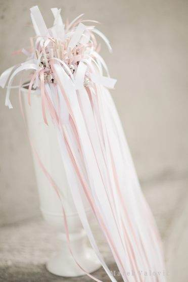 wedding bells and ribbons