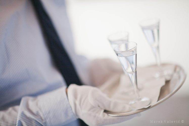 drinks on the wedding - alcohol