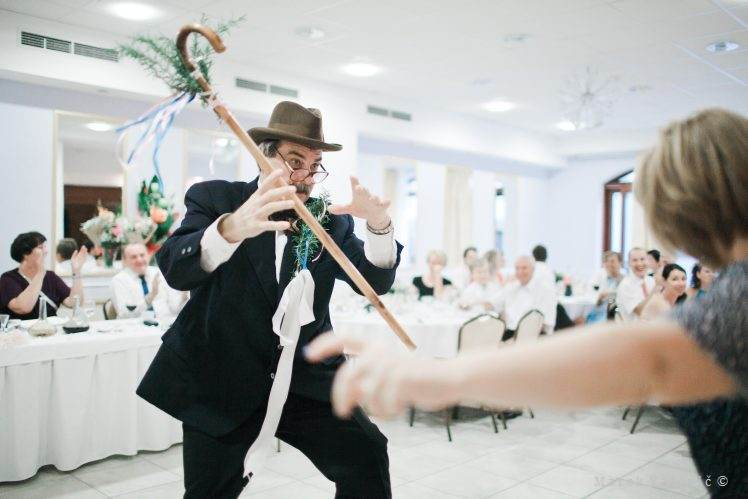 dancing - traditional wedding habits slovakia