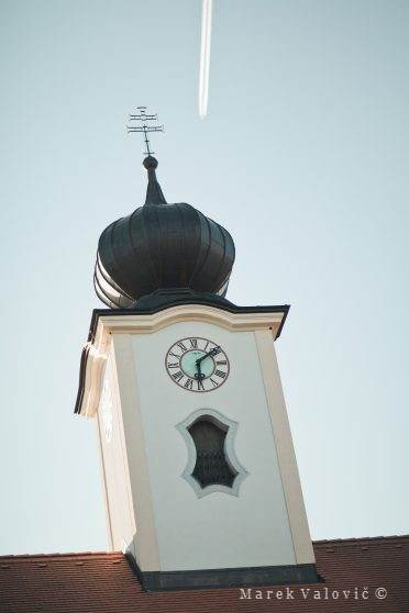 tower clock in Altenhof