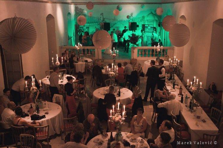 Schloss Altenhof wedding celebration