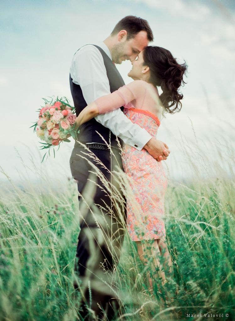 wedding fine art film photographer Austria - The couple