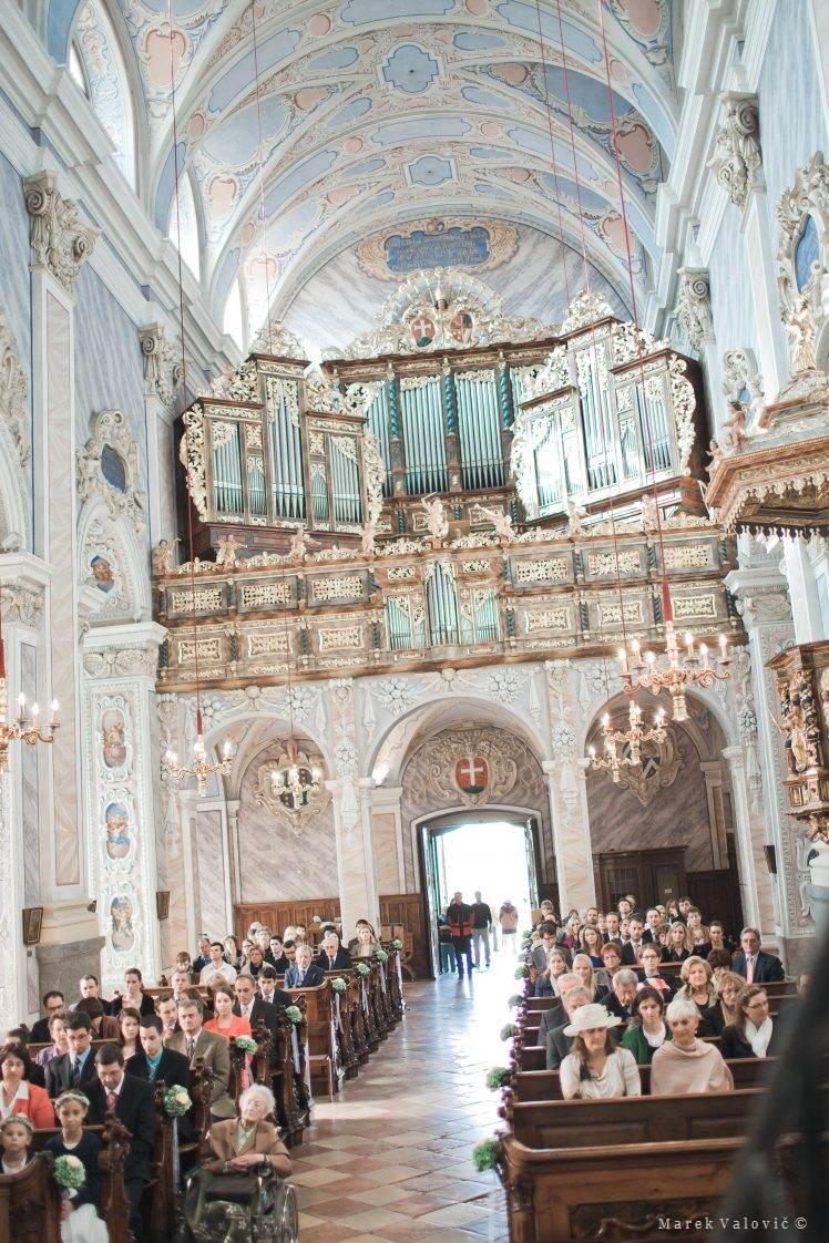 wedding locality Stift Gottweig church interior
