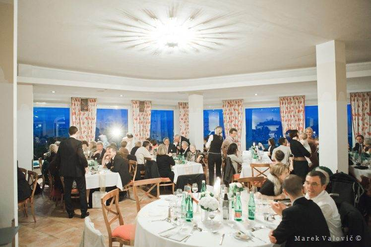 wedding locality Stift Gottweig dinner hall
