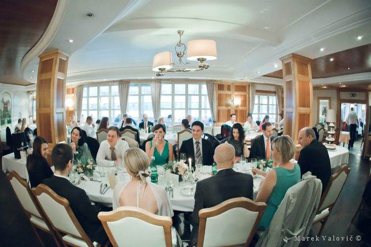 Donau Restaurant Tuttendorfl wedding interior