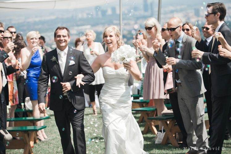 wedding in vineyard Vienna