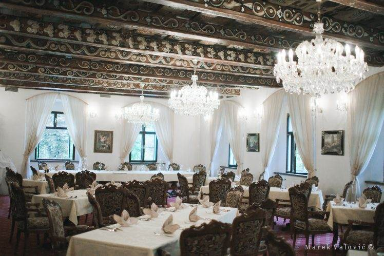 Hotel Gold Cesky Krumlov interior destination wedding