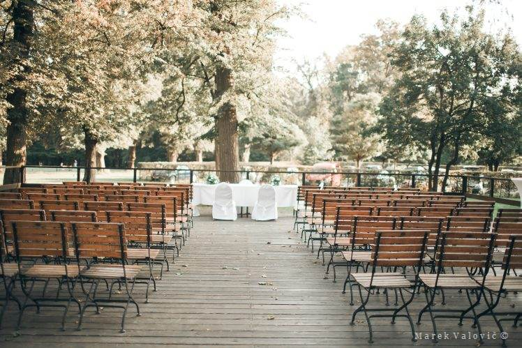 wedding locality Vienna Europahous terrace