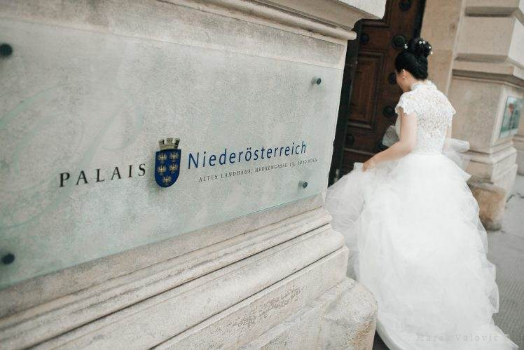 wedding locality Palais Niederosterreich Destination wedding Vienna