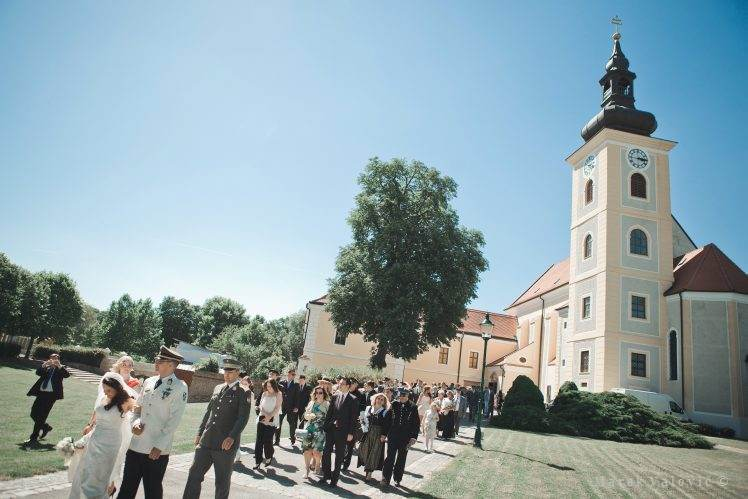 Weinkendorf church wedding Niederosterreich