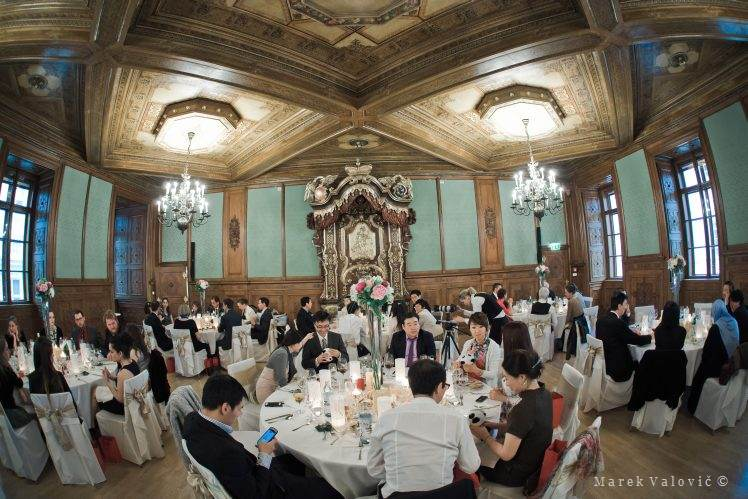 wedding venue in Vienna Palais Niederoesterreich