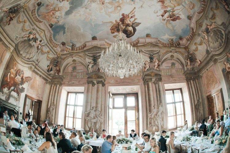 Wedding dinner Schloss Hetzendoft Vienna