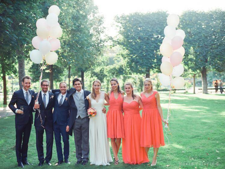 Vienna volksgarden - wedding baloons - Best wedding photographer Vienna
