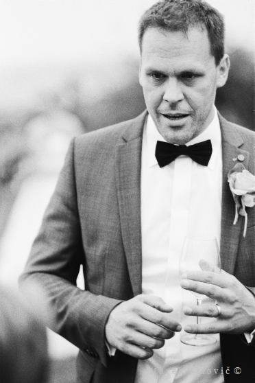 Wedding portrait groom - Kodak TRI-X 400 - Vienna