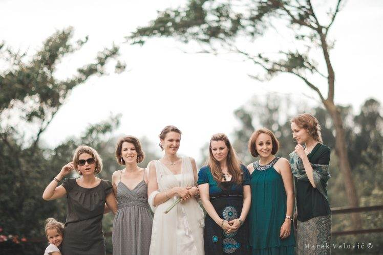 wedding group photo - firstmaids - das Chadim Vienna