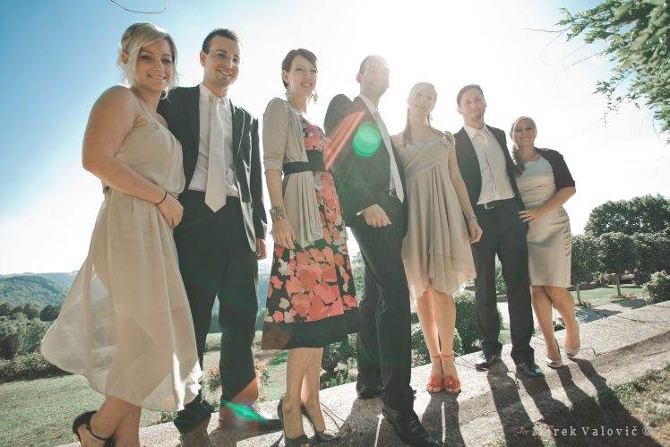 wedding group portrait - Schloss Altenhof