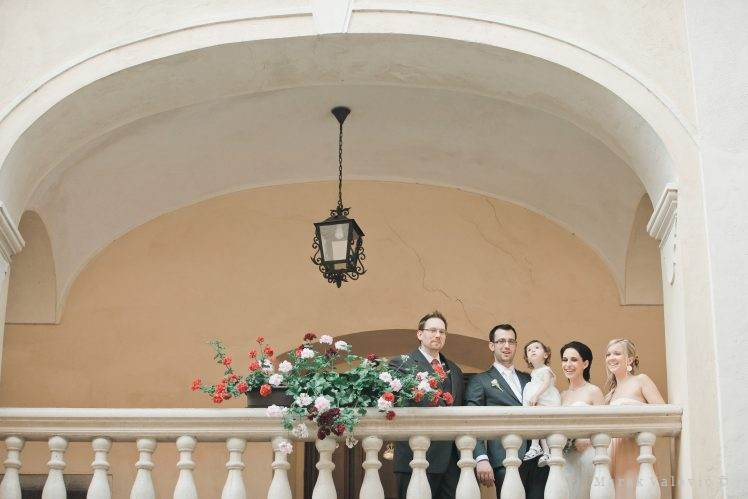 wedding group portrait - Obermayerhofen
