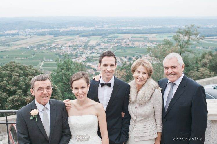 wedding group portrait - Niederosterreich