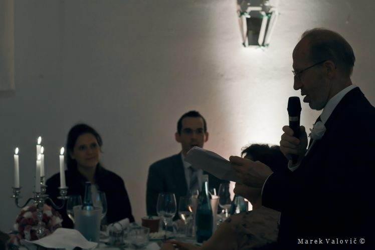 wedding speech Schloss Halbturn