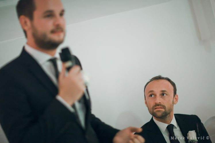 wedding speech Schloss Halbturn - bestman