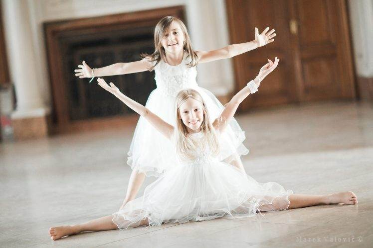 wedding kids - ballerinas