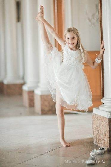 ballerina on wedding