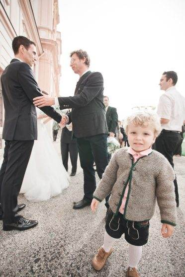 cute wedding kid