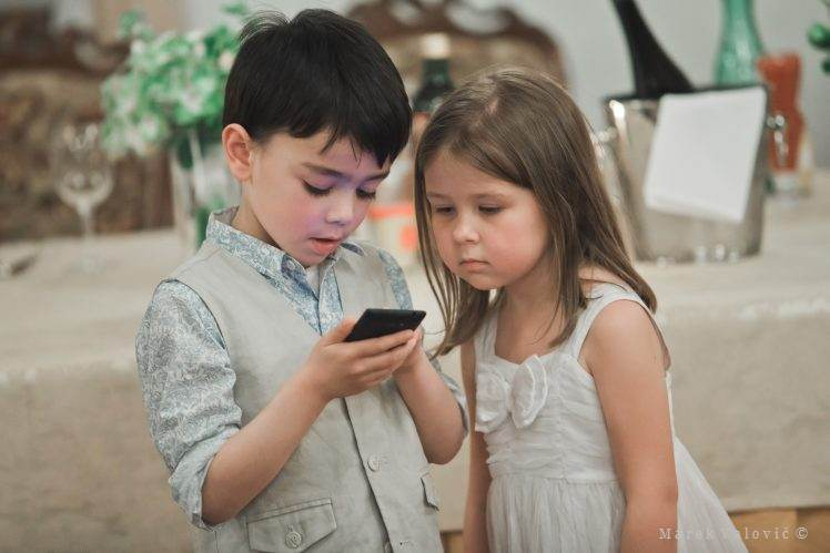 write me sms - kids on wedding