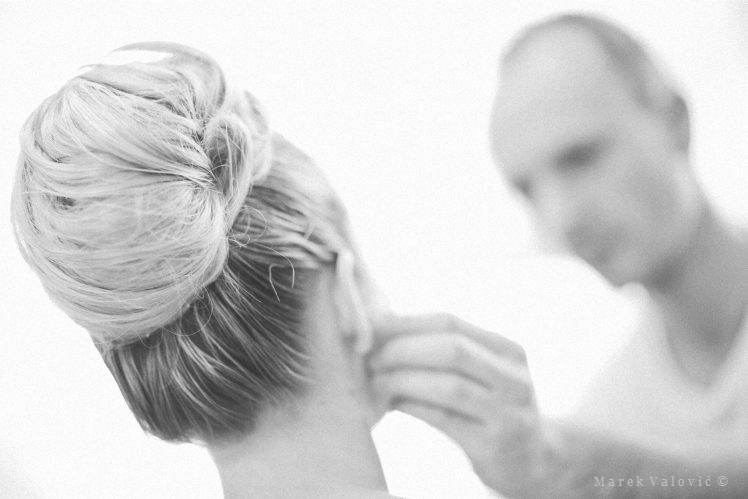 wedding make up and hairstyle Vienna