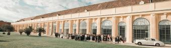 wedding venue Schonbronn Wien Orangerie