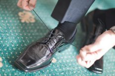 wedding shoelaces