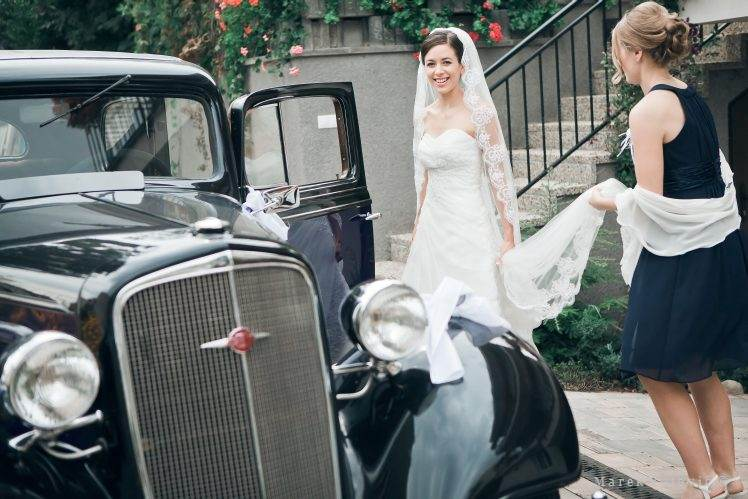 Wedding vintage Chevrolet