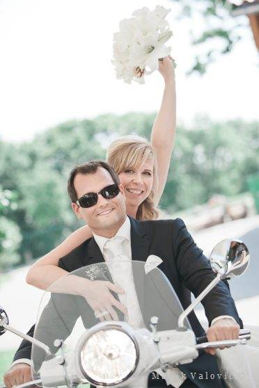 wedding vespa Vienna